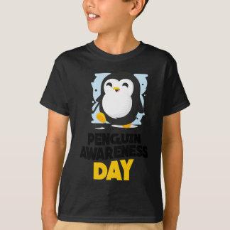20th January - Penguin Awareness Day T-Shirt