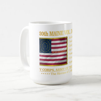 20th Maine Volunteer Infantry (BH) Coffee Mug