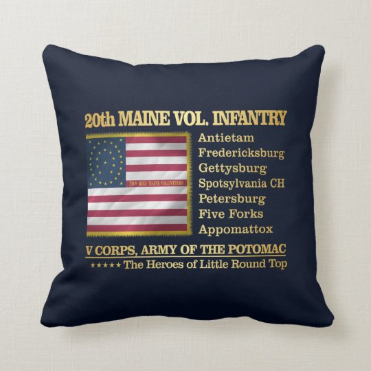 20th Maine Volunteer Infantry (BH) Cushion
