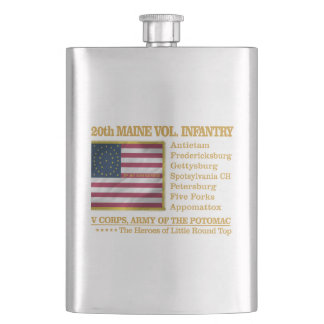 20th Maine Volunteer Infantry (BH) Hip Flask