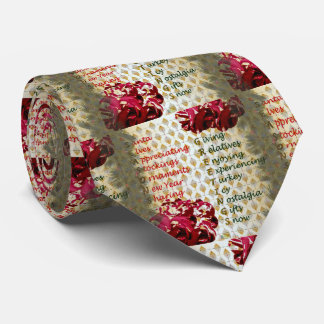 20th Quote; Seasons Greetings Tie