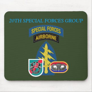 20TH SPECIAL FORCES GROUP MOUSEPAD