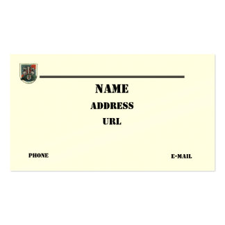 20th special forces group vets flash business Card