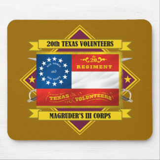 20th Texas Volunteer Infantry Mouse Pad