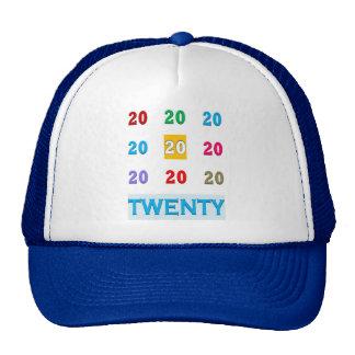20th Twentieth xx Birthday Anniversary ELEGANT Gif Cap