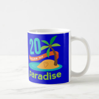 20th Wedding Anniversary Funny Gift For Her Coffee Mug