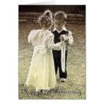 20th Wedding Anniversary Happy Anniversary Greeting Card