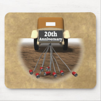 20th Wedding Anniversary Mouse Pads