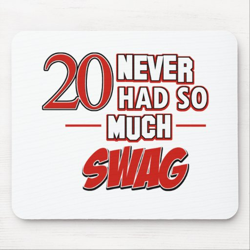 20th year anniversary mouse pad
