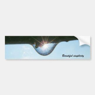 2126105644_8b4f902a4c, Beautiful simplicity Bumper Sticker