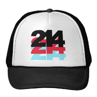 214 Area Code Hats