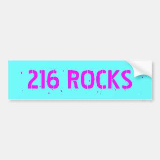 216 ROCKS, Cleveland Rocks Bumper Sticker