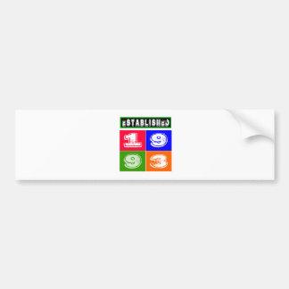21 Birthday Designs Bumper Sticker