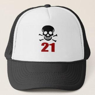 21 Birthday Designs Trucker Hat