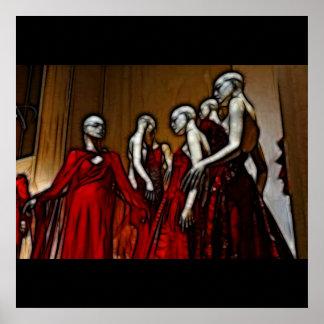 21 - Blood Mascarade Poster