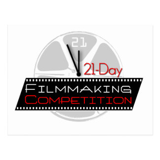 21-Day Filmmaking Competition Postcard