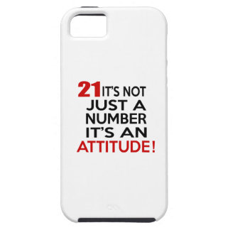 21 it's not just a number it's an attitude iPhone 5 covers