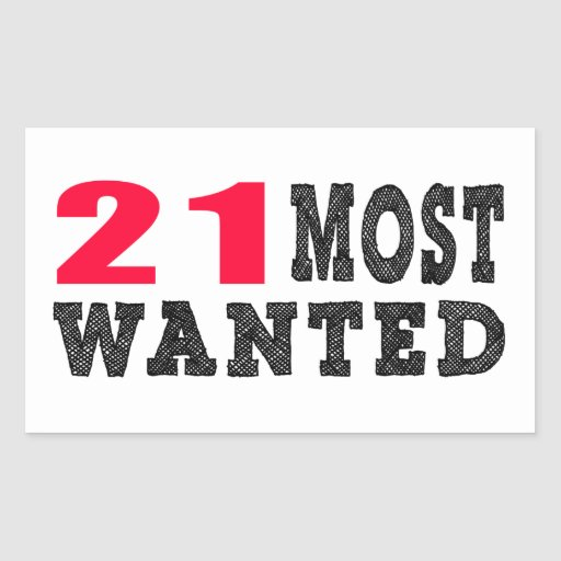 21 most wanted funny birthday designs rectangle stickers