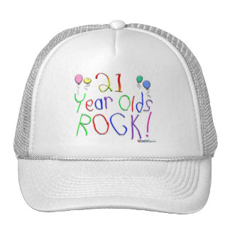 21 Year Olds Rock ! Trucker Hats