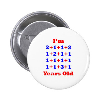 21 Years old! 6 Cm Round Badge