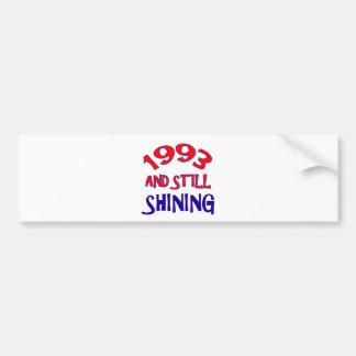 21 years Old birthday designs Bumper Sticker