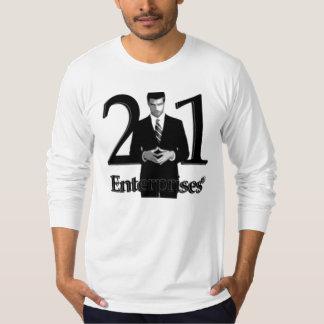 21Enterprises Long Sleeve Logo T Shirts