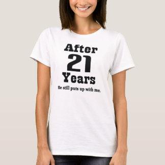 21st Anniversary (Funny) T-Shirt
