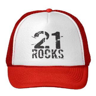 21st Birthday - 21 Rocks Cap
