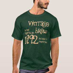 21st Birthday Gift 1992 Vintage Brew For Him V05 T Shirt