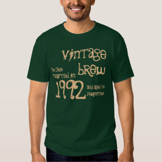 21st Birthday Gift 1992 Vintage Brew For Him V05 Tshirt