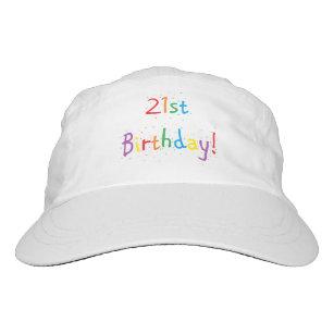 21st Birthday Hats Caps