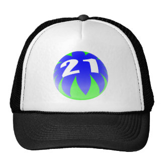 21st Birthday Mesh Hats