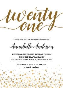 21st Birthday Invitations   Zazzle AU