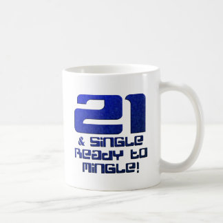 21st Birthday Mug