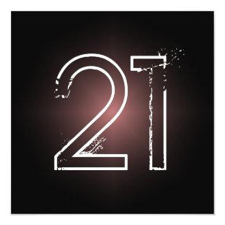 21st Birthday Party Invitation