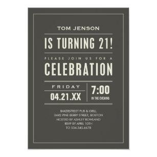 Male 21st birthday gifts on zazzle au 21st birthday party invitations filmwisefo