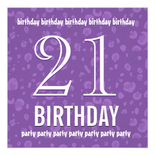 21st birthday invitations templates free - 28 images - 21st birthday ...