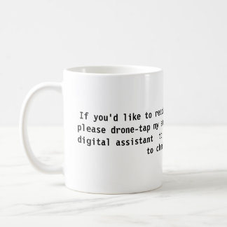 21st Century Auto-Reply Mug
