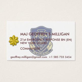 21st ERB Business Card