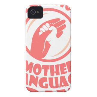 21st February - International Mother Language Day Case-Mate iPhone 4 Cases