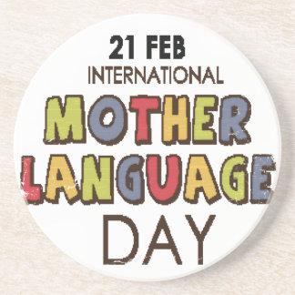 21st February - International Mother Language Day Coaster