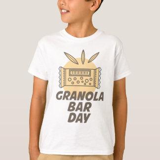 21st January - Granola Bar Day T-Shirt