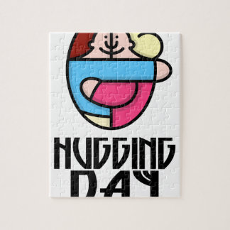 21st  January - Hugging Day - Appreciation Day Jigsaw Puzzle