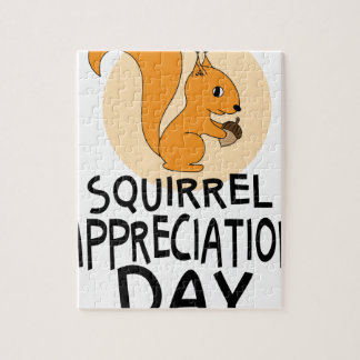 21st January - Squirrel Appreciation Day Puzzles