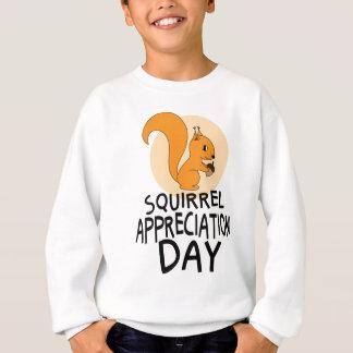 21st January - Squirrel Appreciation Day Sweatshirt