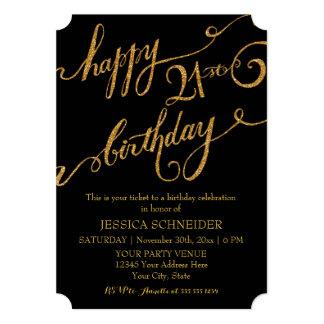 21st, Twenty First Birthday Party Celebration Card