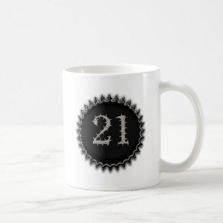 21st Vegas Birthday Basic White Mug