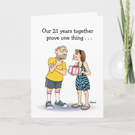 21st Wedding Anniversary.21st Wedding Anniversary Card Love Card