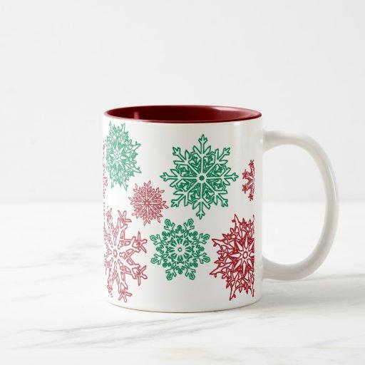 220 Christmas Snowflake Mug