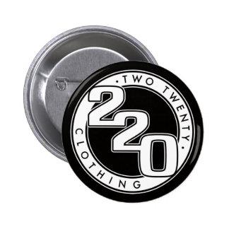 220 Clothing Logo 6 Cm Round Badge